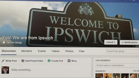"""The 'Yes! We are from Ipswich"""" Facebook page"""