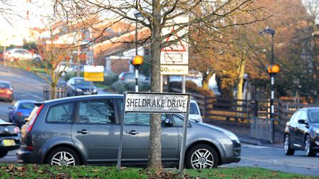 A teenage girl was approached by a man in Sheldrake Drive on Saturday