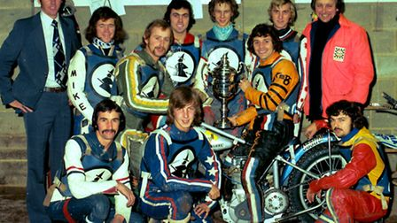 Ipswich Witches won the League championship for the second year running in 1976. The team was (from