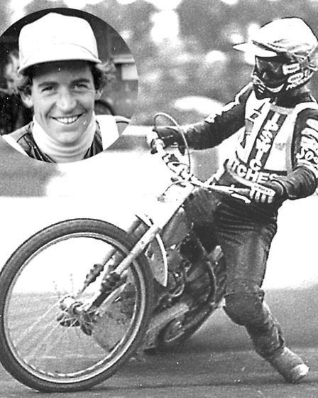 American John Cook's outrageous leg-trailing style was a big crowd pleaser in the 80s. However his t