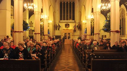 St Mary-le-Tower Church Choir in Ipswich. Picture: Su Anderson