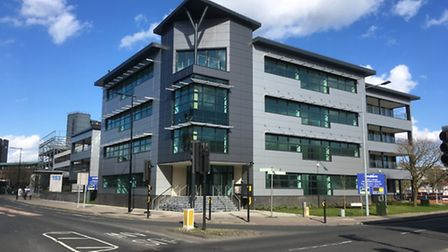 There are vacant office blocks in Ipswich town centre like Connexions in Princes Street.