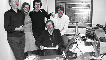 The line up on Radio Orwell when the station came on the air October 28,1975, included (from the lef