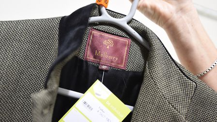 A Mulberry coat will be on sale on opening day. Picture: GREGG BROWN