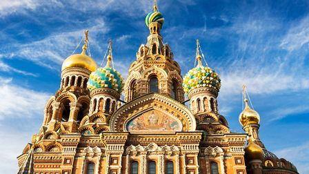 Church of the Resurrection of Christ (Saviour on Spilled Blood), St. Petersburg, Russia Photo: Getty