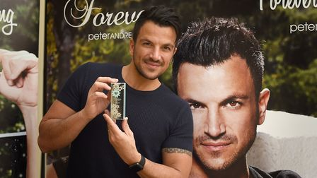 Peter Andre met his fans at the Buttermarket in Ipswich on Saturday April 1.