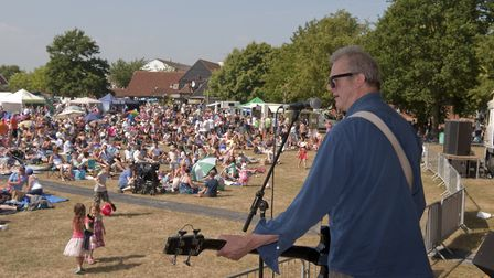 Suffolk Sounds aims to pick up where Music on the Green in Martlesham Heath and Kesgrave Music Festi