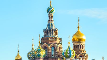 Church of the Resurrection of Christ (Savior on Spilled Blood), St Petersburg, Russia Photo: Getty