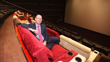 Paul Baxter, operations director at the new Empire cinema in Ipswich. Picture: GREGG BROWN