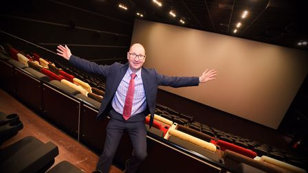Paul Baxter, operations director of the new Empire cinema in Ipswich. Picture: GREGG BROWN