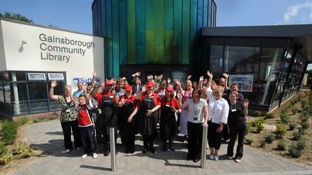 Gainsborough Library reopened in 2009, pictured here. Picture: ANDY ABBOTT