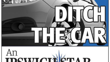 The Ditch the Car campaign logo