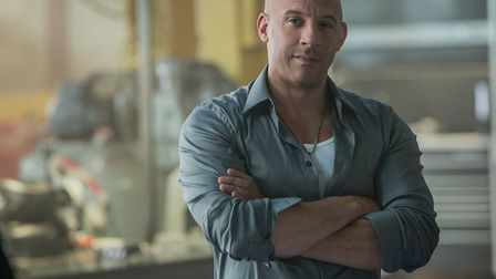 Vin Diesel, seen here in Fast and Furious 7, returns for The Fate of the Furious in cinemas this wee