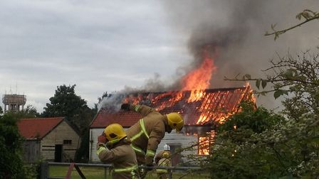 The fire at Walton Stables