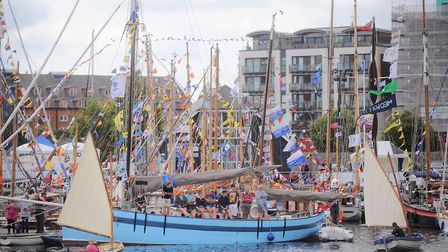 The website contains details on the Maritime Festival at Ipswich Waterfront. Picture: GREGG BROWN