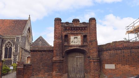 Wolsey's Gate in Ipswich. Picture: SARAH LUCY BROWN