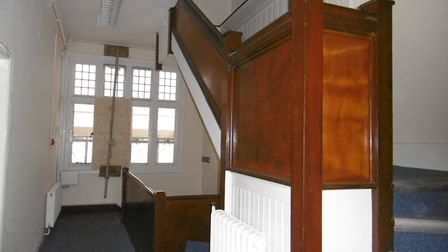 Restoration to create new flagship office in Princes Street, Ipswich One of the stair wells