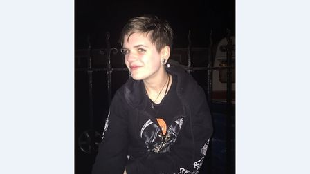 Miranda Wollny, aged 16, who has gone missing from her home in Belstead Avenue, Ipswich