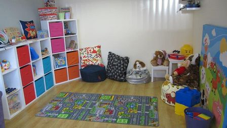 A childrens room at The Ferns. Since it opened in April 2011 the centre has helped 397 people aged