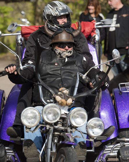 10th annual St George's Day Charity Bike Show and Meet at The Bell Inn in Kesgrave . Picture: ASHLE