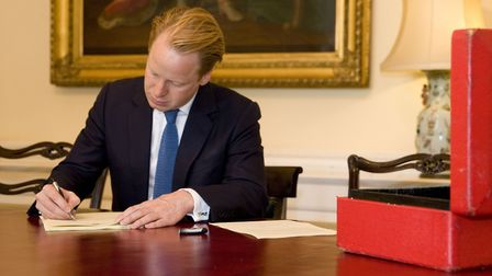 Ipswich MP and Cabinet Office minister Ben Gummer is writing the Conservative manifesto. Picture: RO