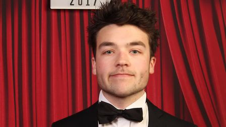 Alfie Vaughan, who won student of the year at the One Rosscars.