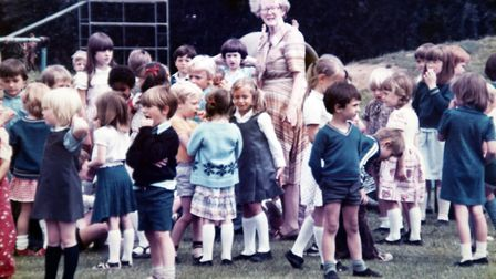 Mrs Smith was headteacher at Sprites Infant School from 1965 until 1982 when she retired. Mrs Smit