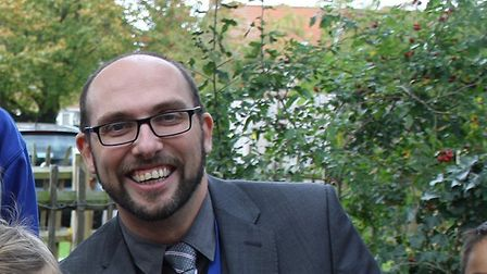 Paul Stock, headteacher of Rushmere Hall Primary School. Picture: CONTRIBUTED