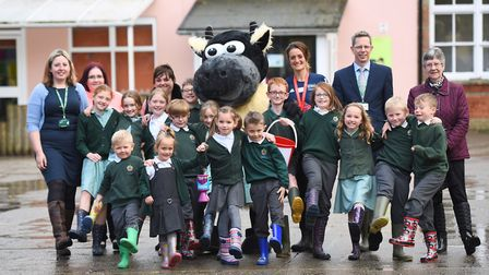 """Zoe's mother Wendy Goddard organised a series of """"Welly Wednesday"""" events at schools including Freem"""