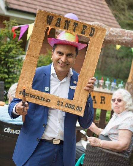 Hallmark Care Homes founder and director Avnish Goyal. Picture: HALLMARK CARE HOMES