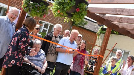 ActivLives opens a 'Garden for Older People' in the Chantry Walled Garden, Ipswich. Picture: SARAH L