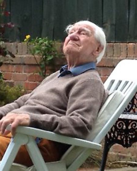 Jesse Webb relaxing in Aldeburgh. Picture: CONTRIBUTED