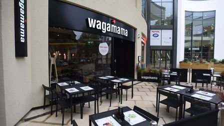 Wagamama at the Buttermarket Centre. Picture: Gregg Brown