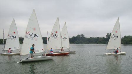 The Antigua Sailing Day at Lackford Lakes will feature three races.
