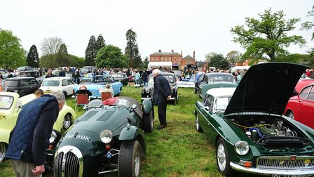 The Classic Vehicle Rally and Country Fayre at Earsham Hall, organised by Bungay Lions.