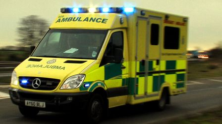 Paramedics sent to Derby Road railway station. Picture: ARCHANT LIBRARY