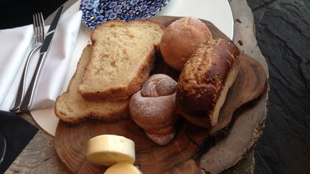 The Satlhouse's selection of homemade breads. Picture: ELLIS BARKER