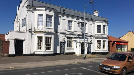 The Railway pub in Foxhall Road. Picture: ADAM HOWLETT
