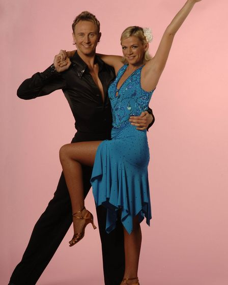 Ian and celebrity partner Zoe Ball. He has funny memories of the first time they danced together bef