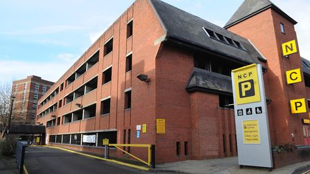 The Blackfriars NCP multi-story car park in Foundation Street, Ipswich. Photo: Lucy Taylor