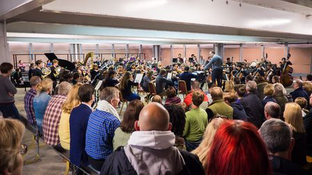 The Multi-Story Orchestra made its Aldeburgh Festival debut at Ipswich in 2015. Photo: Sam Murray-Su