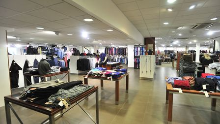 Inside the Coes flagship Ipswich store