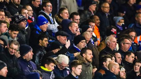Town fans will be hoping for uplifting end to a disappointing season Picture: Steve Waller www.