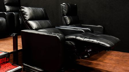 A reclining D-Box seat at Empire Cinema in Ipswich.Picture:STEPHEN WALLERwww.stephenwaller.com