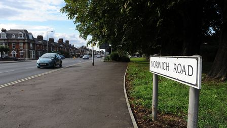 Stock image of Norwich Road. Picture: PHIL MORLEY