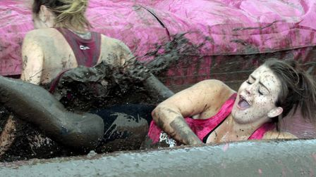 NB 2017 Race for Life Pretty Muddy,Trinity Park, Felixstowe Road, Ipswich.Picture:Nige Brown.