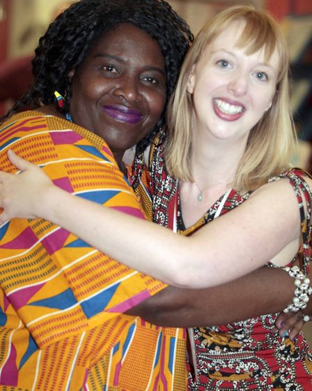 Stella Ojediran and Amy Beckwith. Picture: NIGEL BROWN