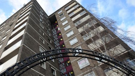 Cumberland Towers in Norwich Road, Ipswich. Picture: SU ANDERSON