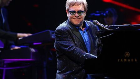 Sir Elton John is performing at Ipswich Town Football Club on Saturday. Picture: MELANIE ESCOMBE