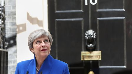 Prime Minister Theresa May after the General Election this week. Picture: JONATHAN BRADY/PA WIRE